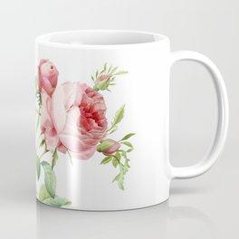 Vintage & Shabby Chic - English Roses Flower Garden Shrub Coffee Mug
