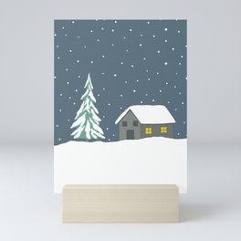 Silent night Mini Art Print