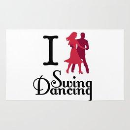 I (Dance) Swing Dancing Rug