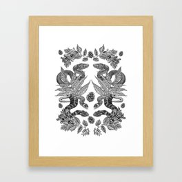 Serpent's Choir Framed Art Print