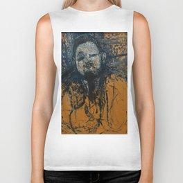 "Amedeo Modigliani ""Diego Rivera"" (1916) Biker Tank"