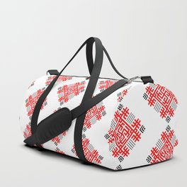 Rodimich - Antlers - Slavic Symbol #2 Duffle Bag