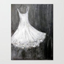 Tutu Canvas Print