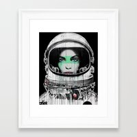 new order Framed Art Prints featuring New Order by LouiJoverArt