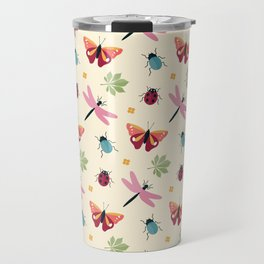 Insects all around Travel Mug