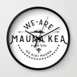 We are Mauna Kea Wall Clock
