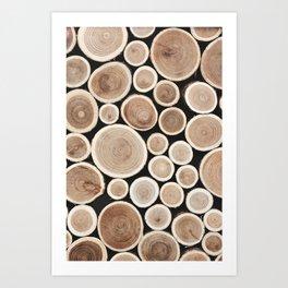 Timber 4 Art Print
