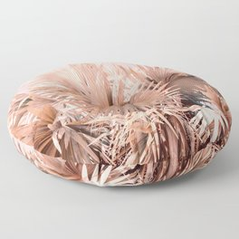 Coral Palms Floor Pillow