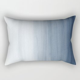 Ocean Watercolor Painting No.2 Rectangular Pillow