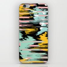Abstract color smeared picture iPhone Skin