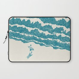 To the sea Laptop Sleeve