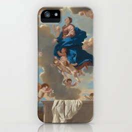 "Fine Art,""The Assumption of the Virgin"",Masterpiece,on,HOME DECOR,Wall Art,iPhone cases,iPhone sleev iPhone Case"