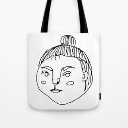 That Bun Gal // Cafe Customer Series Tote Bag