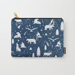 Arctic Circle - Blue Carry-All Pouch