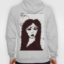 Mysterious Gothic Lady Hoody