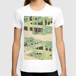 Shin-Bijutsukai – Japanese Design Bamboo At Night T-shirt