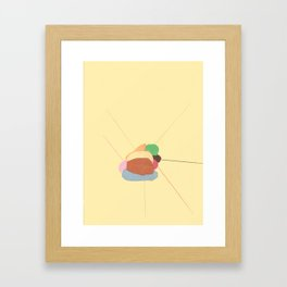 Matche Framed Art Print