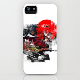 Abstract Kyoto iPhone Case