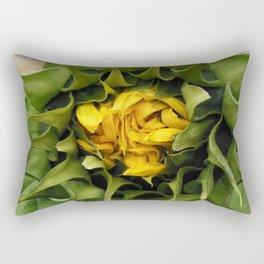 Shy Sun Rectangular Pillow