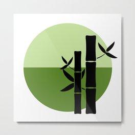 Bamboo on the horizon Metal Print