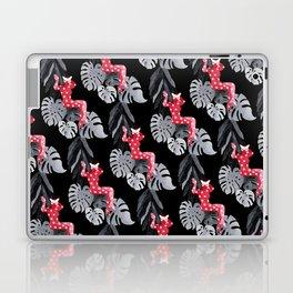 Jungle Cat Woman Laptop & iPad Skin
