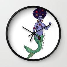 Mermaid's don't have vagina's Wall Clock