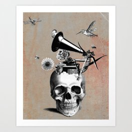 Song for the Dead Art Print