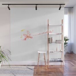 I Don't Have a Problem with Authority! Transparent Wall Mural