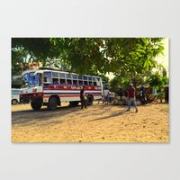 philippines Canvas Prints featuring Rest Stop 2 - Philippines by Michael S.