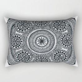 Aztec style mandala Rectangular Pillow