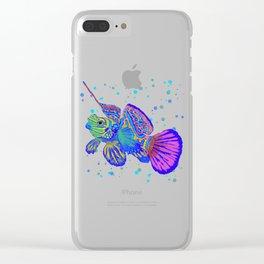 Dragonette - Synchiropus Splendidus Magica Yellow Clear iPhone Case