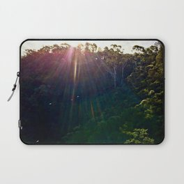 Whimsical Blue Mountains Laptop Sleeve