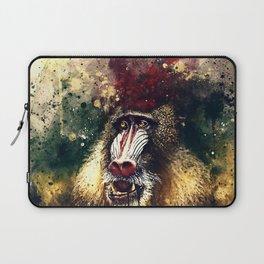 baboon monkey wsfn Laptop Sleeve