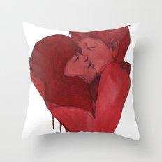 Being a Heart  Throw Pillow
