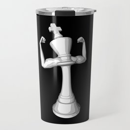 The White King Travel Mug