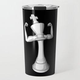 The White King Travel Mug