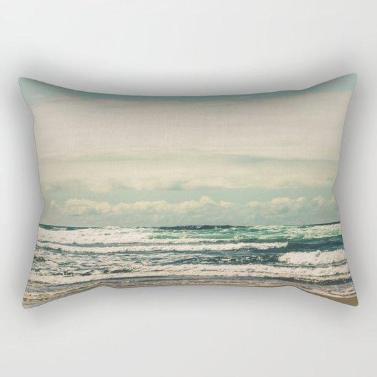 Warm Tide Rectangular Pillow