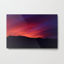SW Mountain Sunrise - 5 Metal Print
