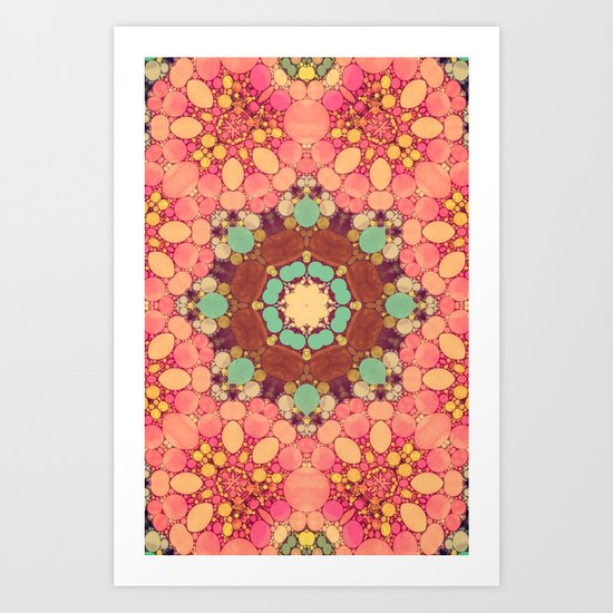 Sweetie Pie Pink Art Print