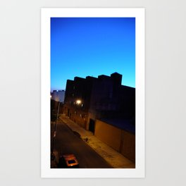 Brookly-night Art Print