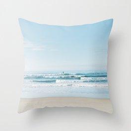 California Surfing Throw Pillow