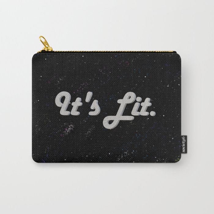 Lit. Carry-All Pouch