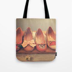 Vintage Shoes and Heels  Tote Bag