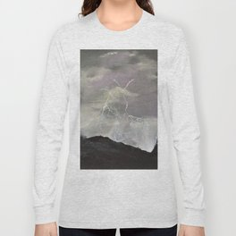 Trouble over the prairies Long Sleeve T-shirt