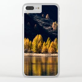 Lake Sils Clear iPhone Case