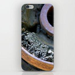 Wooden Wheel iPhone Skin