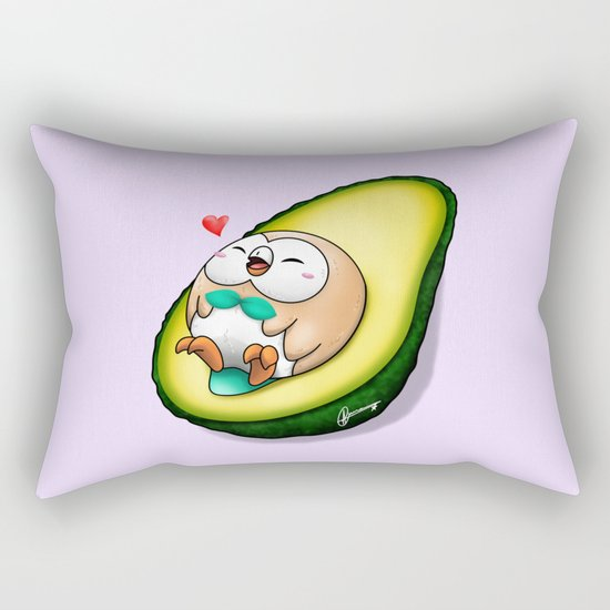Rowlecado Rectangular Pillow