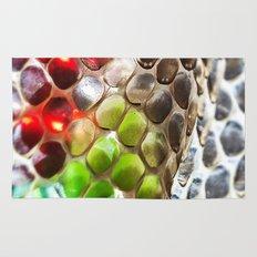 Snakeskin & Beads Rug