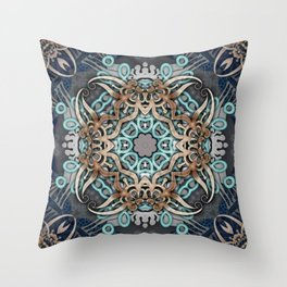 Fairy Gate Throw Pillow