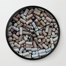 Uncorked Wall Clock